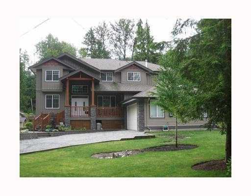 Main Photo: 11239 261ST Street in Maple_Ridge: Thornhill House for sale (Maple Ridge)  : MLS®# V760550