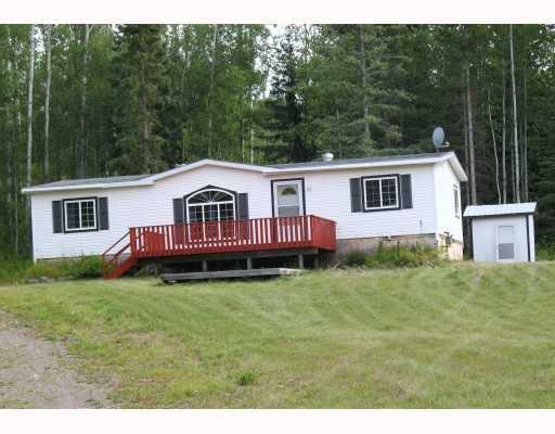 Main Photo: 2920 MOOSE Road in Burns_Lake: Burns Lake - Rural East Manufactured Home for sale (Burns Lake (Zone 55))  : MLS®# N194594
