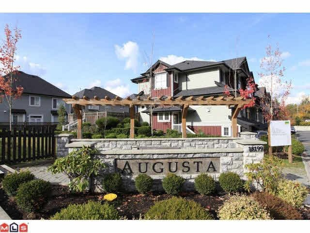 Main Photo: 1 18199 70TH AVENUE in : Cloverdale BC Townhouse for sale : MLS®# F1226296