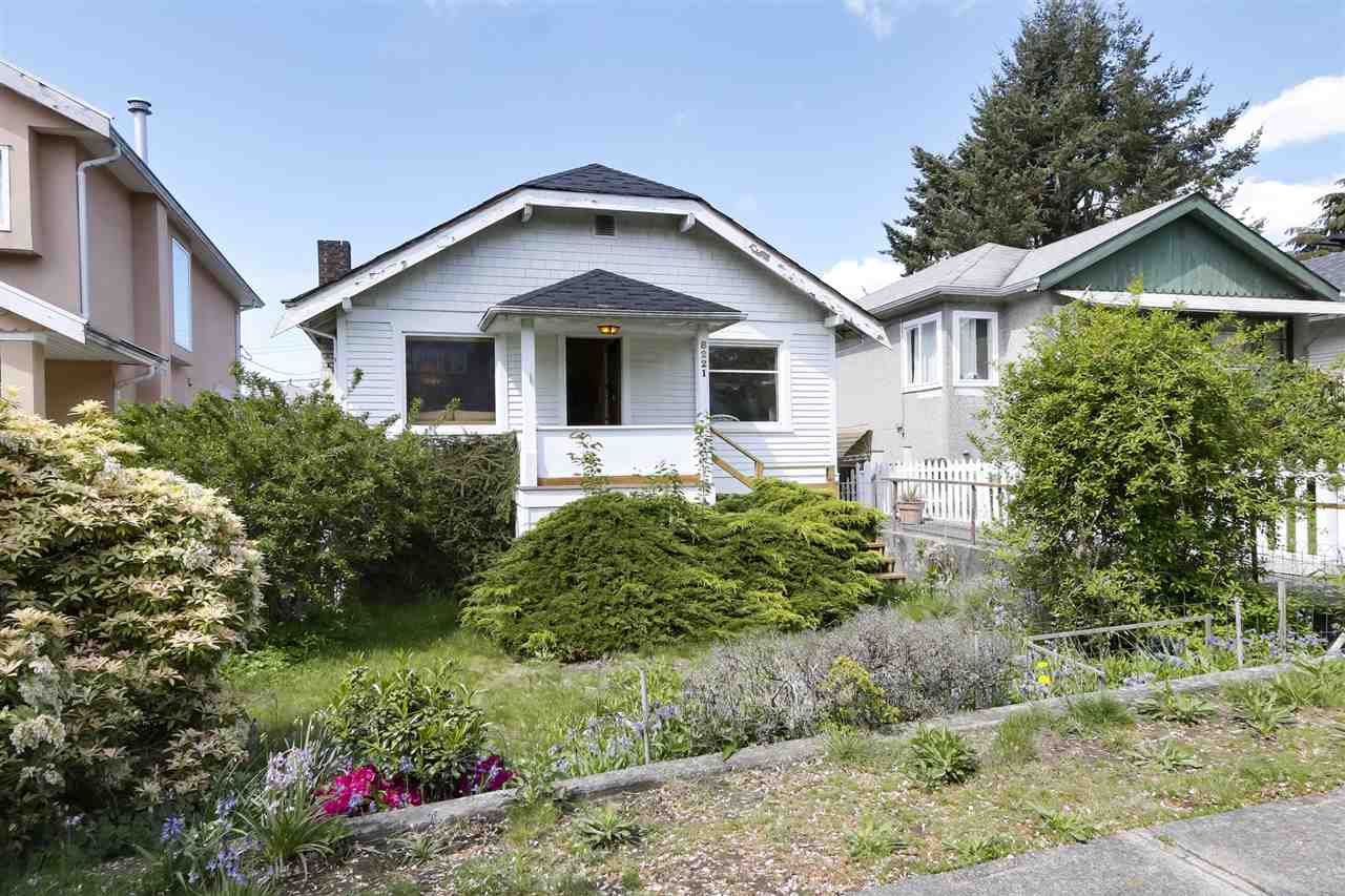 "Main Photo: 8221 CARTIER Street in Vancouver: Marpole House for sale in ""Marpole Village"" (Vancouver West)  : MLS®# R2454201"