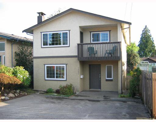 Main Photo: 1567 FERN Street in North_Vancouver: Lynnmour House for sale (North Vancouver)  : MLS®# V785534