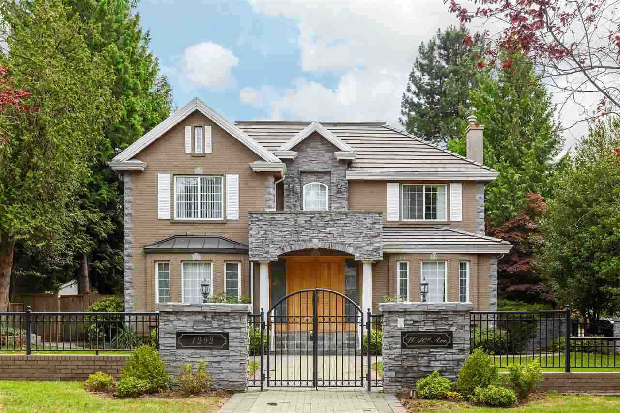 Main Photo: 1292 W 40TH Avenue in Vancouver: Shaughnessy House for sale (Vancouver West)  : MLS®# R2527564