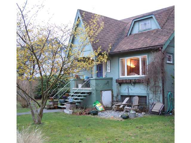Main Photo: 4377 W 9TH Avenue in Vancouver: Point Grey House for sale (Vancouver West)  : MLS®# V867852