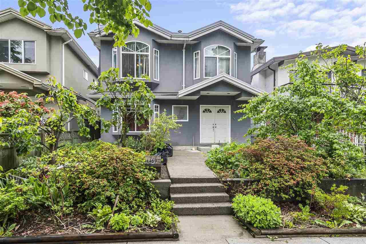 Main Photo: 3469 WILLIAM Street in Vancouver: Renfrew VE House for sale (Vancouver East)  : MLS®# R2459320