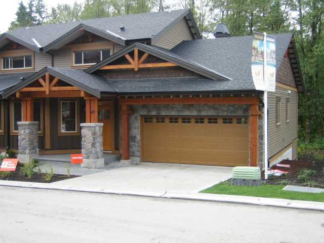 "Main Photo: 86 24185 106B Avenue in Maple Ridge: Albion House 1/2 Duplex for sale in ""TRAILS EDGE"" : MLS®# V825281"