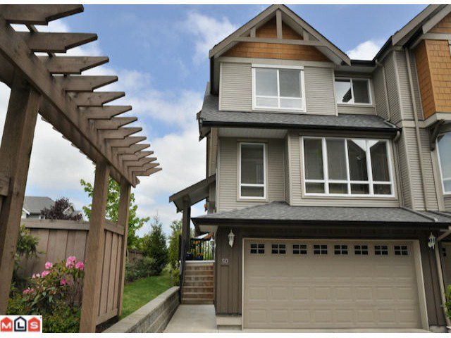 "Main Photo: 50 16789 60TH Avenue in Surrey: Cloverdale BC Townhouse for sale in ""Laredo"" (Cloverdale)  : MLS®# F1014213"