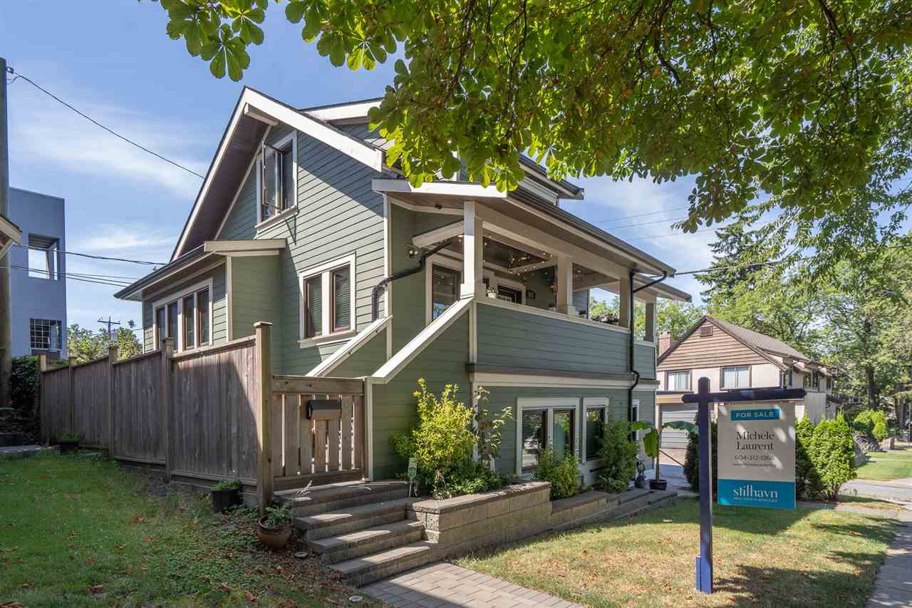 Main Photo: 2887 ALBERTA Street in Vancouver: Mount Pleasant VW House 1/2 Duplex for sale (Vancouver West)  : MLS®# R2480585