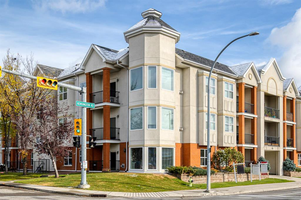 Photo 1: Photos: 107 2134 Kensington Road NW in Calgary: West Hillhurst Apartment for sale : MLS®# A1040983