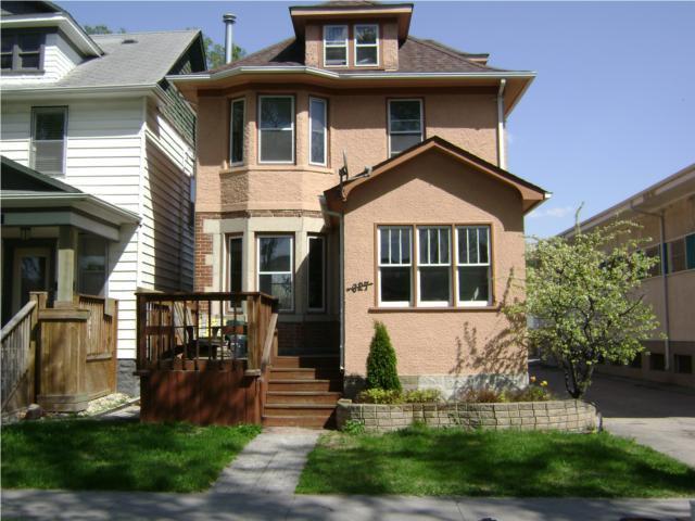Main Photo:  in WINNIPEG: West End / Wolseley Residential for sale (West Winnipeg)  : MLS®# 1009460