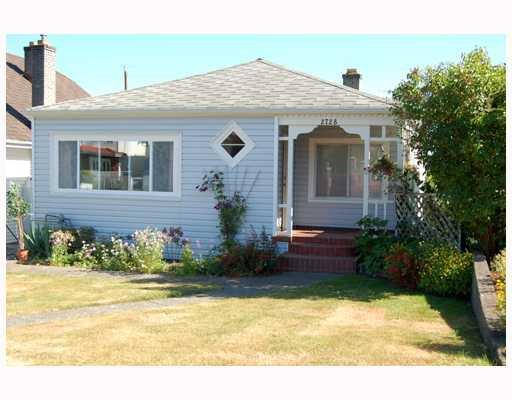 Main Photo: 2728 TURNER Street in Vancouver: Renfrew VE House for sale (Vancouver East)  : MLS®# V722811