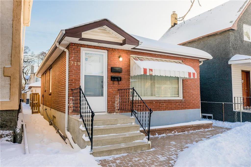Main Photo: 719 Arlington Street in Winnipeg: Residential for sale (5A)  : MLS®# 202000945