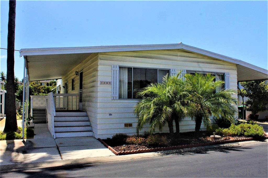 Main Photo: CARLSBAD WEST Mobile Home for sale : 2 bedrooms : 7209 San Luis #169 in Carlsbad
