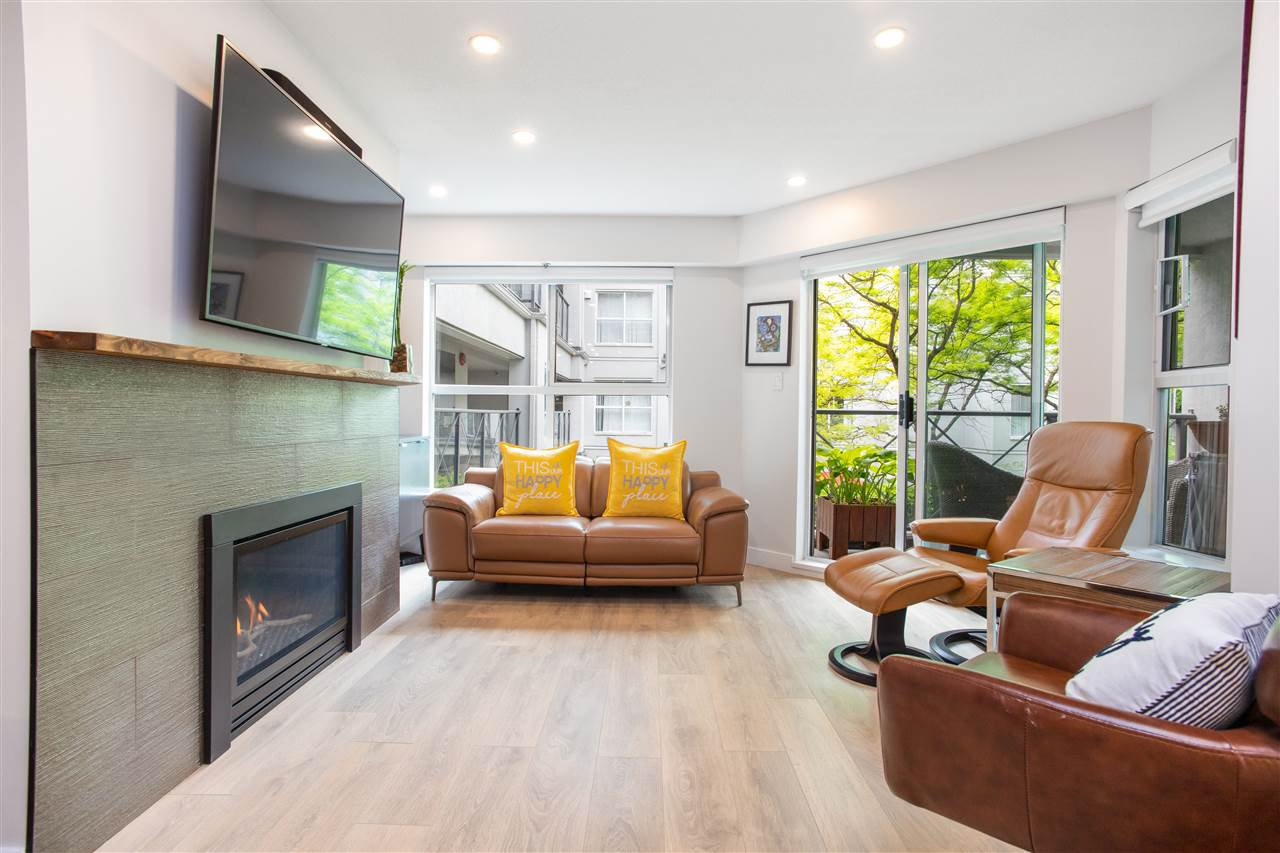 """Main Photo: 205 511 W 7TH Avenue in Vancouver: Fairview VW Condo for sale in """"BEVERLEY GARDENS"""" (Vancouver West)  : MLS®# R2480655"""