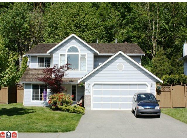 "Main Photo: 3025 CROSSLEY Drive in Abbotsford: Abbotsford West House for sale in ""ELLWOOD PROPERTY"" : MLS®# F1013780"