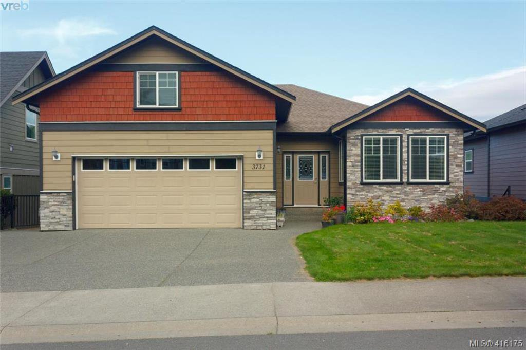 Main Photo: 3731 Ridge Pond Drive in VICTORIA: La Happy Valley Single Family Detached for sale (Langford)  : MLS®# 416175