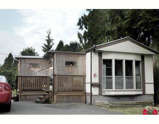 "Photo 1: Photos: 100 10221 WILSON Street in Mission: Stave Falls Manufactured Home for sale in ""TRIPLE CREEK ESTATES"" : MLS®# F2917423"