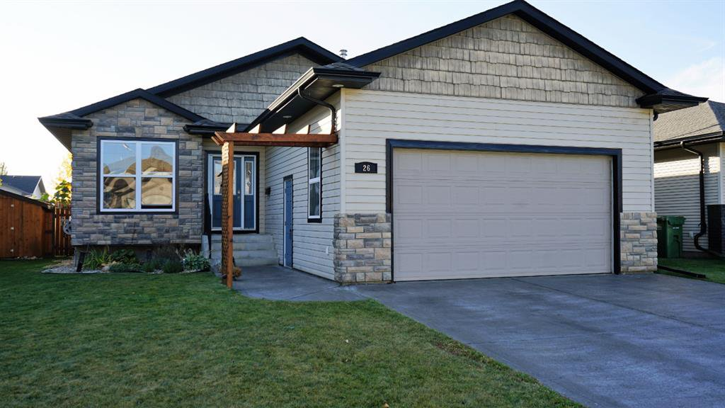 Main Photo: 26 Jack Crescent in Red Deer: Johnstone Crossing Residential for sale : MLS®# A1039449