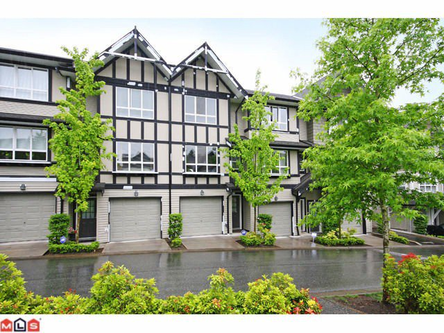 """Main Photo: 4 6747 203RD Street in Langley: Willoughby Heights Townhouse for sale in """"SAGEBROOK"""" : MLS®# F1013962"""