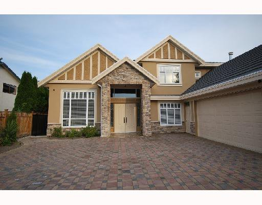 Main Photo: 8128 CATHAY Road in Richmond: Lackner House for sale : MLS®# V738007