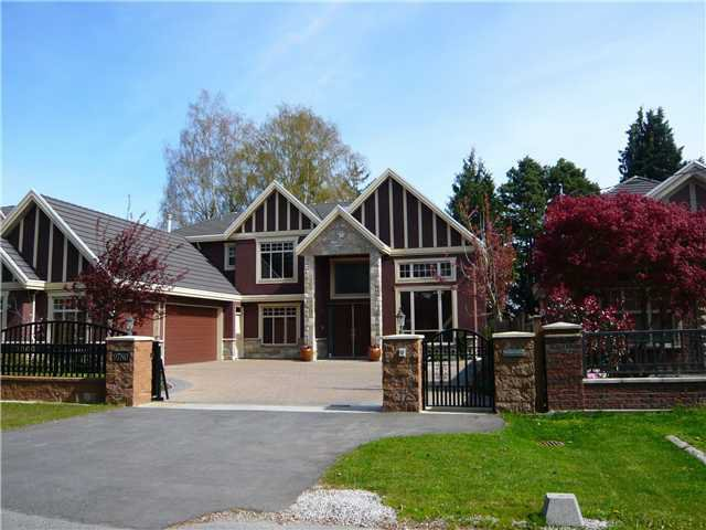 Main Photo: 9780 GILBERT Road in Richmond: Broadmoor House for sale : MLS®# V868910