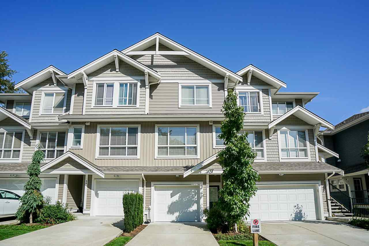 "Main Photo: 33 7059 210 Street in Langley: Willoughby Heights Townhouse for sale in ""Alder"" : MLS®# R2407874"