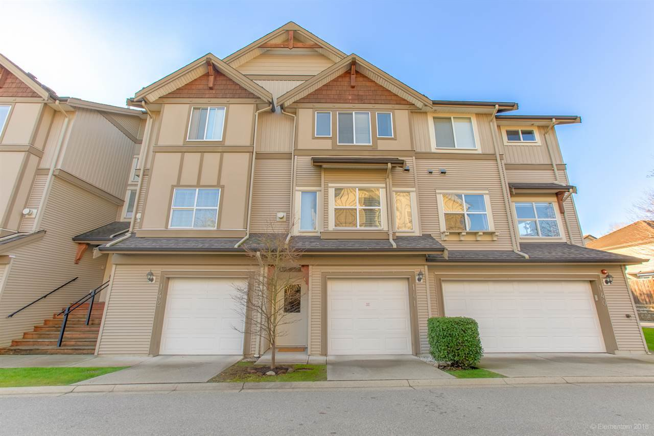"Main Photo: 141 1055 RIVERWOOD Gate in Port Coquitlam: Riverwood Townhouse for sale in ""MOUNTAIN VIEW ESTATES"" : MLS®# R2421098"