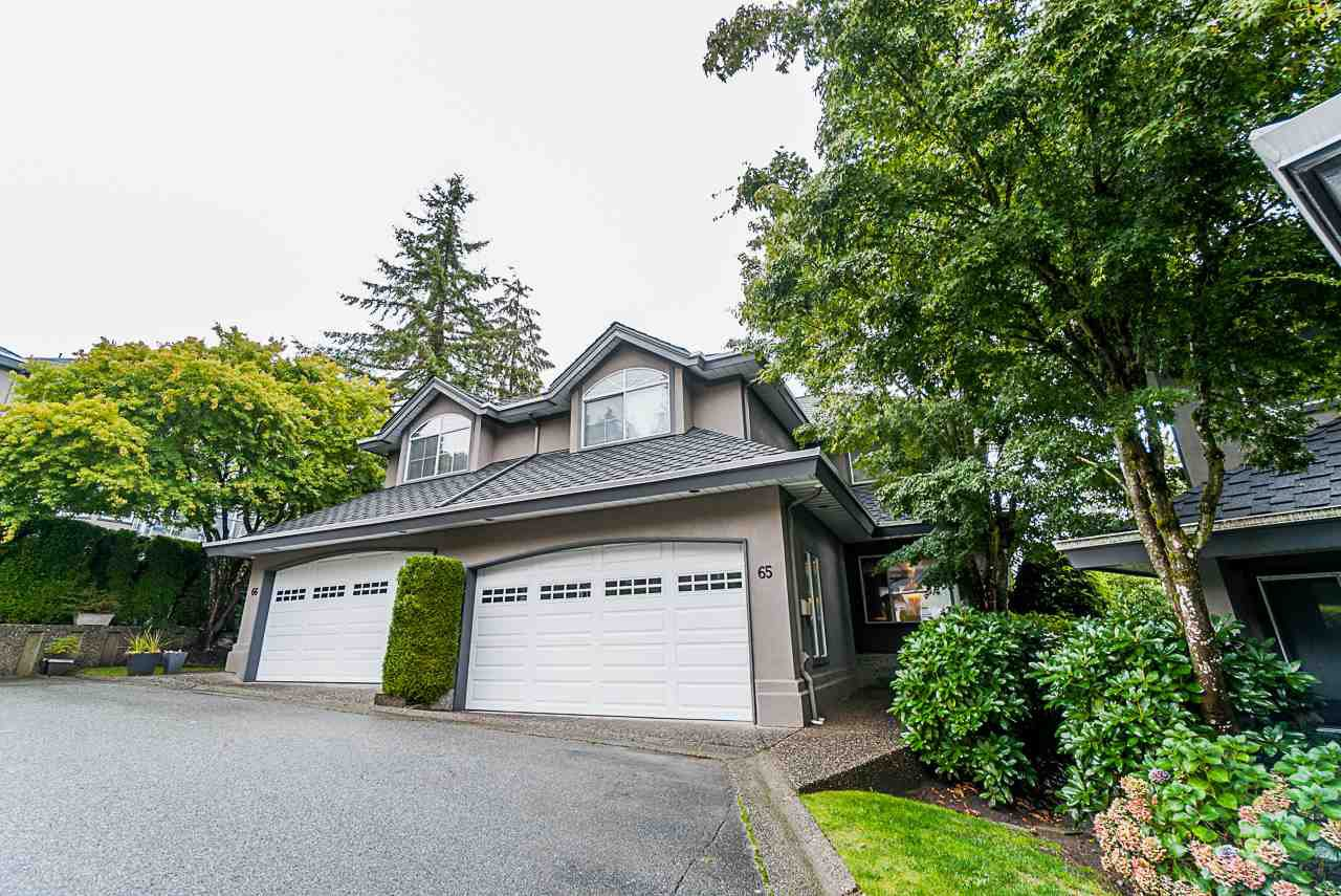 "Main Photo: 65 2990 PANORAMA Drive in Coquitlam: Westwood Plateau Townhouse for sale in ""Wesbrook"" : MLS®# R2502623"