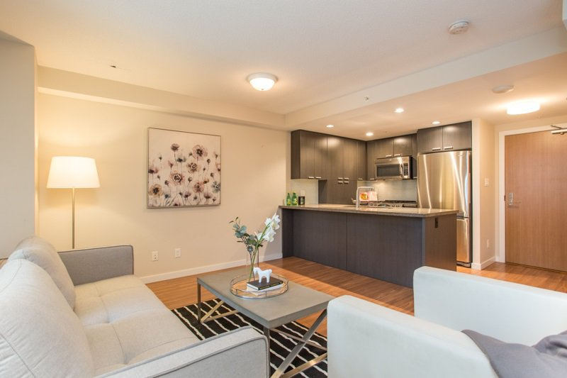 """Main Photo: 403 2200 DOUGLAS Road in Burnaby: Brentwood Park Condo for sale in """"AFFINITY"""" (Burnaby North)  : MLS®# R2523058"""