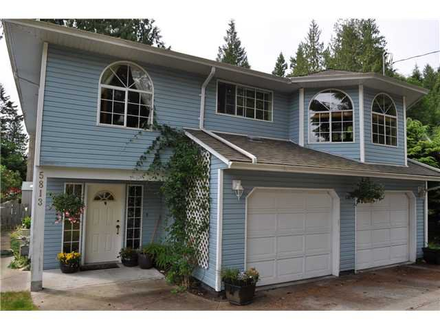 Main Photo: 5813 ANCHOR Road in Sechelt: Sechelt District House for sale (Sunshine Coast)  : MLS®# V848051
