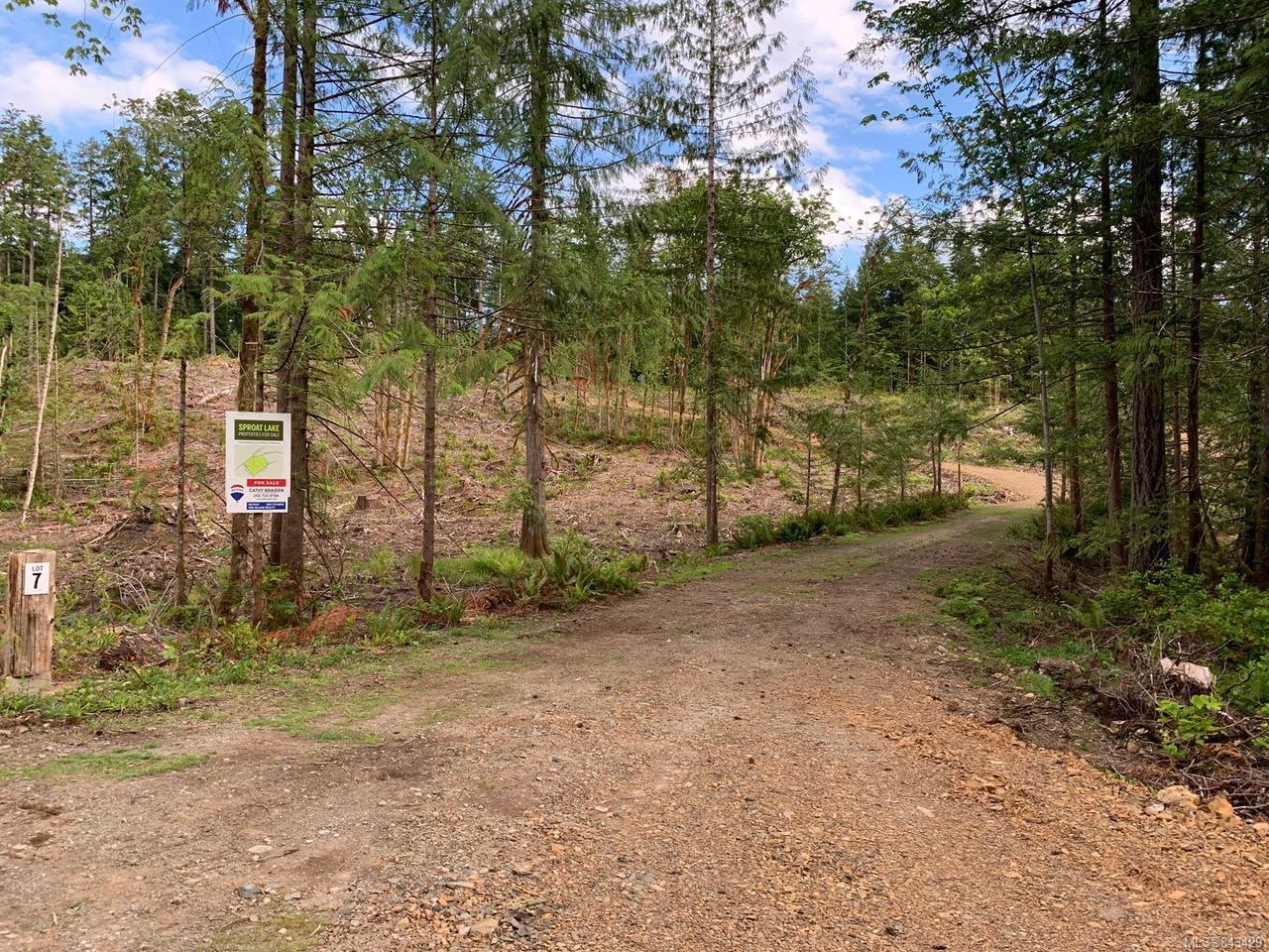 Main Photo: LT 7 Blower Rd in PORT ALBERNI: PA Sproat Lake Land for sale (Port Alberni)  : MLS®# 843429