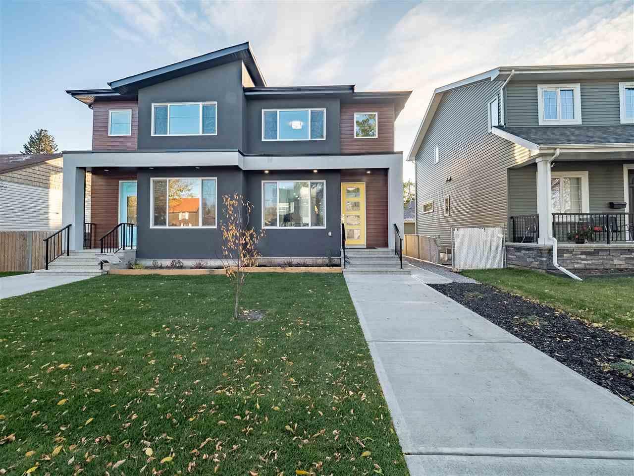 Main Photo: 8829 92 Street in Edmonton: Zone 18 House Half Duplex for sale : MLS®# E4177413