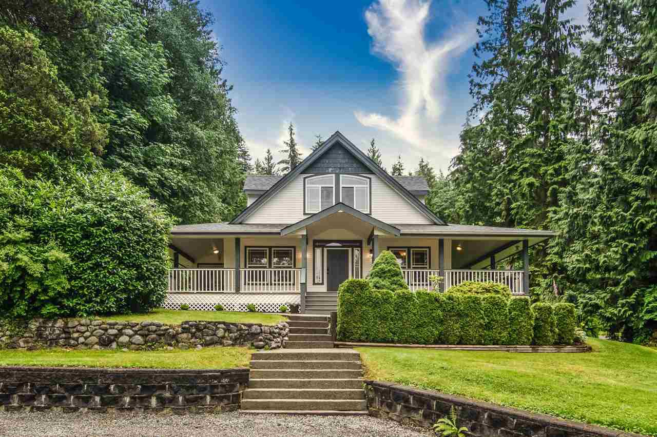 Main Photo: 11482 284 Street in Maple Ridge: Whonnock House for sale : MLS®# R2470512