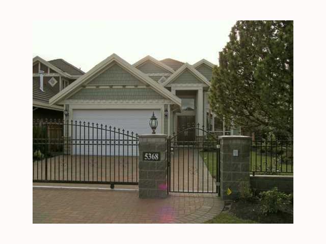 Main Photo: 5368 MAPLE Road in Richmond: Lackner House for sale : MLS®# V814808