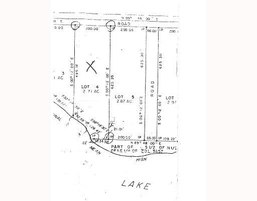 "Main Photo: # LOT 4 HOODOO LAKE BB in Prince_George: Nukko Lake Land for sale in ""NUKKO LAKE"" (PG Rural North (Zone 76))  : MLS®# N184584"