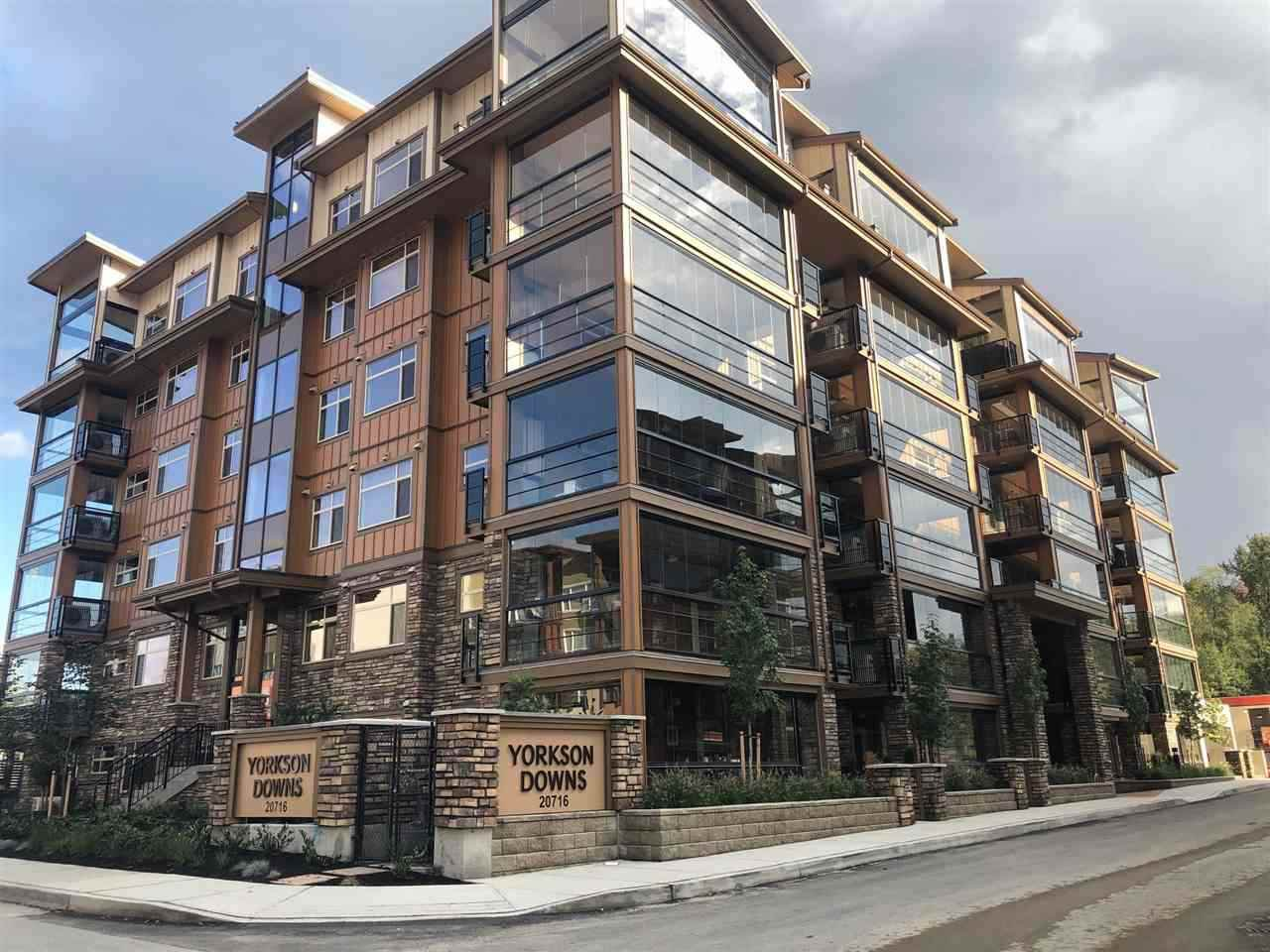 """Main Photo: A612 20716 WILLOUGHBY TOWN CENTRE Drive in Langley: Willoughby Heights Condo for sale in """"Yorkson Downs"""" : MLS®# R2418293"""