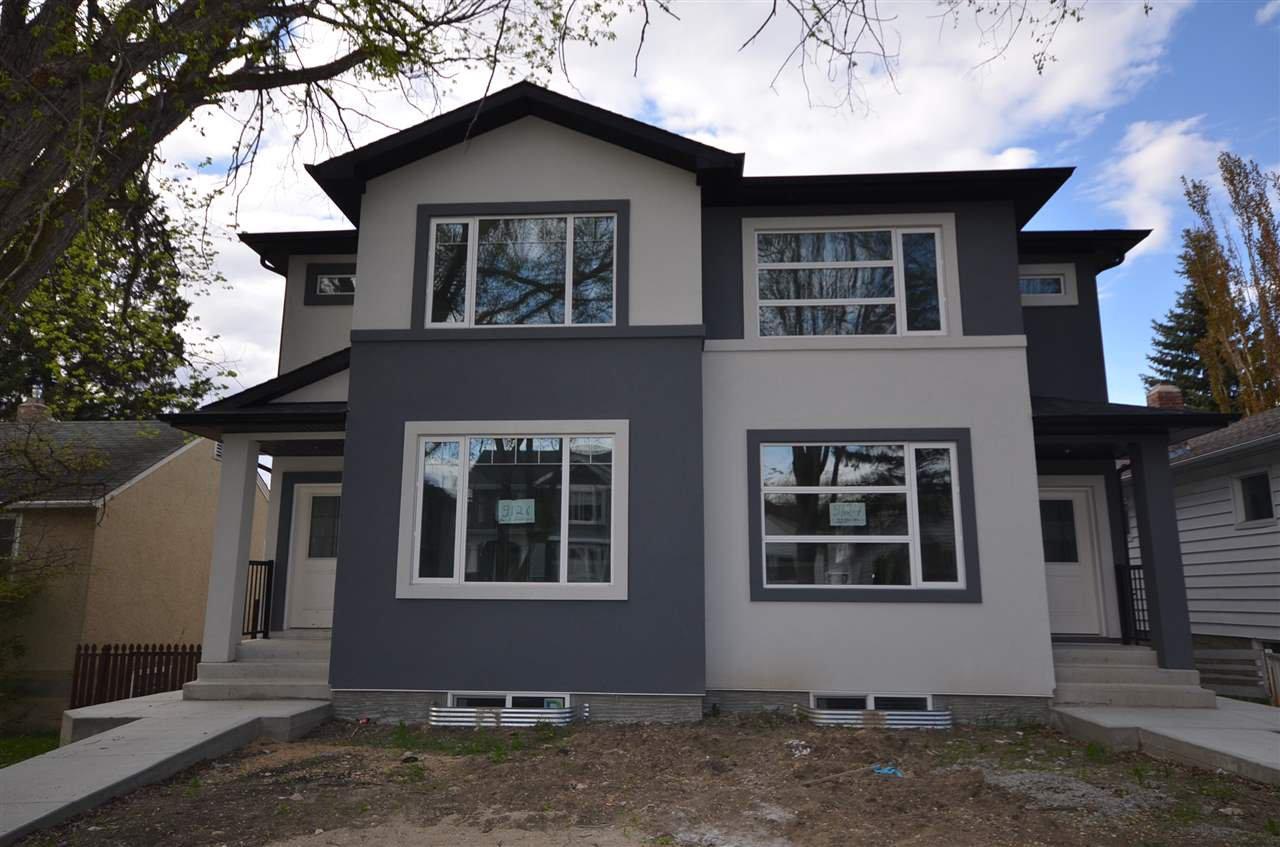 Main Photo:  in Edmonton: Zone 17 House Half Duplex for sale : MLS®# E4176568