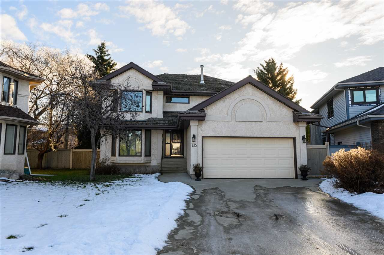 Main Photo: 735 WHEELER Road W in Edmonton: Zone 22 House for sale : MLS®# E4180457