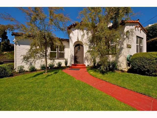 Main Photo: MISSION HILLS House for sale : 3 bedrooms : 3902 Clark in San Diego