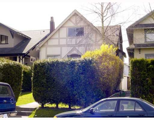 Main Photo: 3536 W 1ST Avenue in Vancouver: Kitsilano House Fourplex for sale (Vancouver West)  : MLS®# V759896