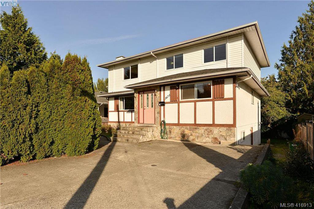 Main Photo: 3675 McIvor Ave in VICTORIA: SE Cedar Hill House for sale (Saanich East)  : MLS®# 827115