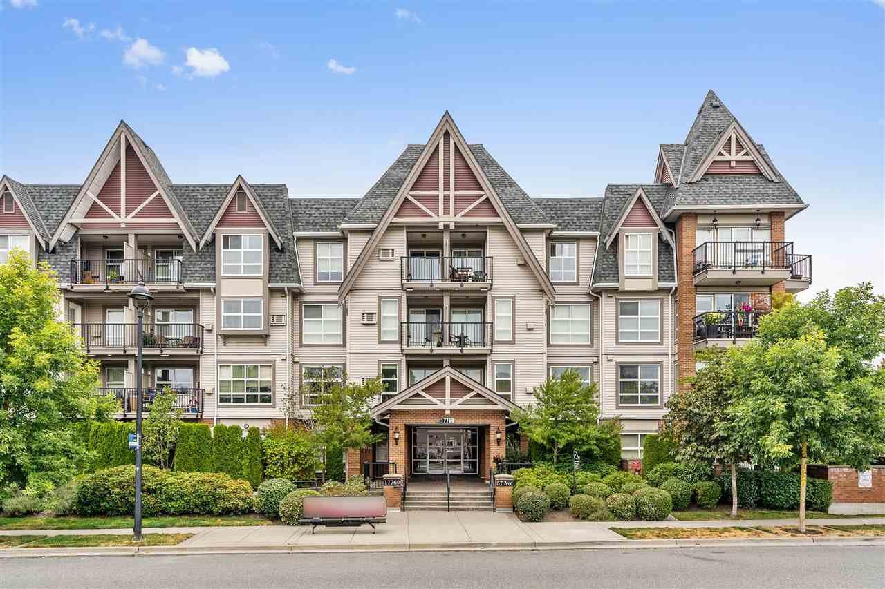 "Main Photo: 220 17769 57 Avenue in Surrey: Cloverdale BC Condo for sale in ""Cloverdown Estates"" (Cloverdale)  : MLS®# R2475730"