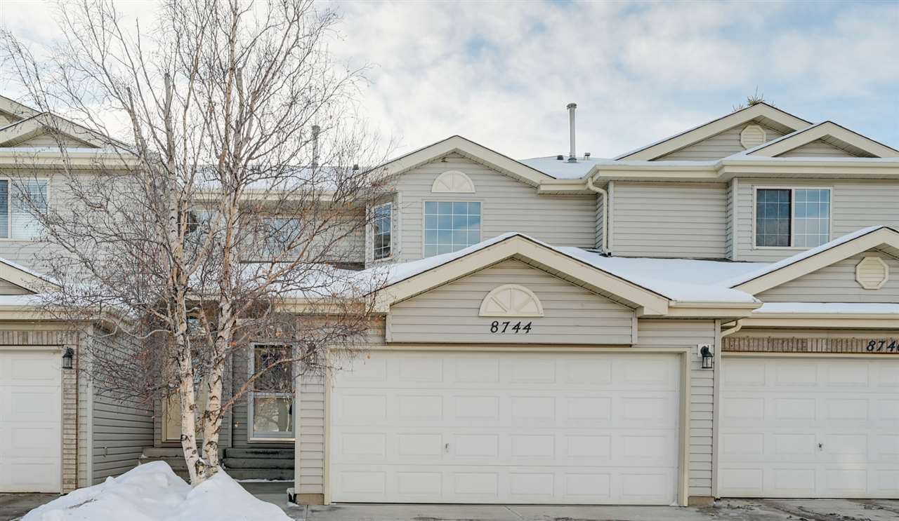 Main Photo: 8744 189 Street in Edmonton: Zone 20 Townhouse for sale : MLS®# E4222123