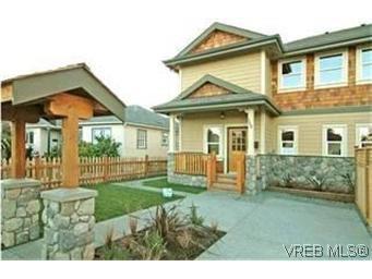 Main Photo: 154 Linden Ave in VICTORIA: Vi Fairfield West Half Duplex for sale (Victoria)  : MLS®# 433861