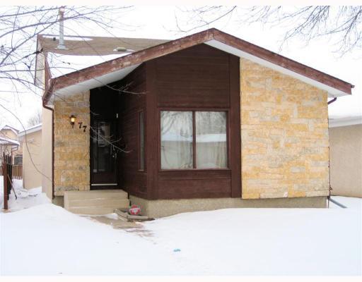 Main Photo: 77 LEATHERWOOD Crescent in WINNIPEG: North Kildonan Residential for sale (North East Winnipeg)  : MLS®# 2902232