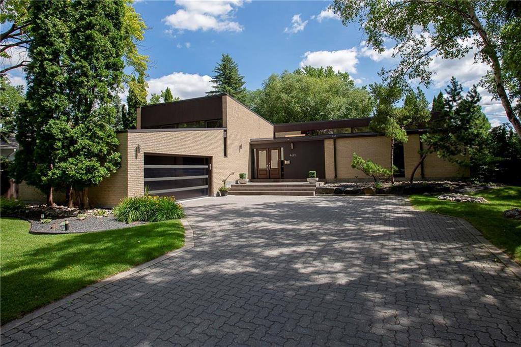 Main Photo: 431 Boreham Boulevard in Winnipeg: Tuxedo Residential for sale (1E)  : MLS®# 202016825