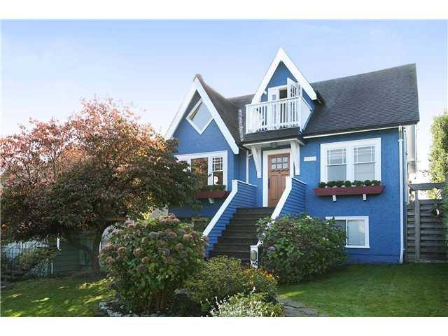 "Main Photo: 2872 TRINITY Street in Vancouver: Hastings East House for sale in ""HASTINGS EAST"" (Vancouver East)  : MLS®# V853763"