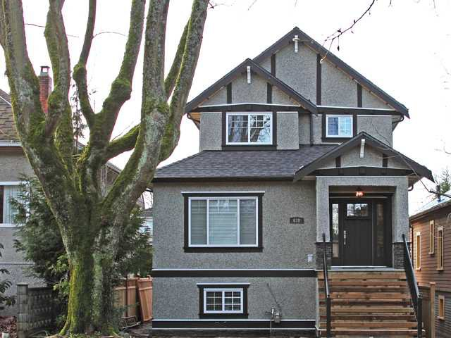 Main Photo: 638 W 19TH Avenue in Vancouver: Cambie House for sale (Vancouver West)  : MLS®# V868355