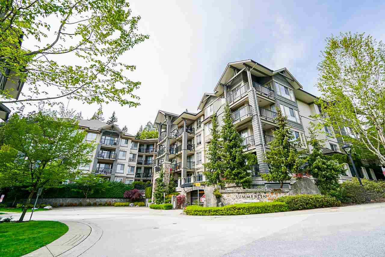"""Main Photo: 207 2969 WHISPER Way in Coquitlam: Westwood Plateau Condo for sale in """"Summerlin at Silver Springs"""" : MLS®# R2471980"""