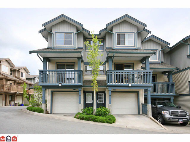 "Main Photo: 84 19250 65TH Avenue in Surrey: Clayton Townhouse for sale in ""SUNBERRY COURT"" (Cloverdale)  : MLS®# F1012417"