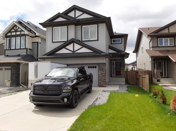 Main Photo: 852 Crystallina Nera Way NW in Edmonton: Zone 28 House for sale : MLS®# E4206319